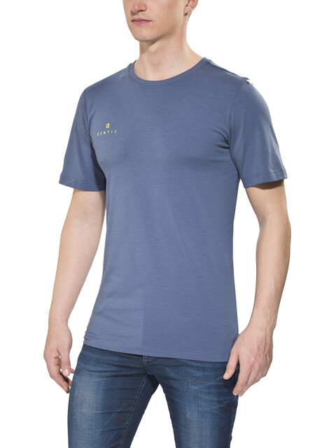 Gentic New School - Camiseta manga corta Hombre - azul